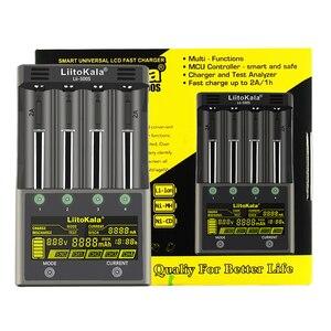 Image 4 - LiitoKala Lii 600 Lii S8 Lii PD4 Lii PD2 Lii 500 Lii S6 LCD akıllı 3.7V 3.2V 1.2V 18650 26650 16340 pil şarj cihazı