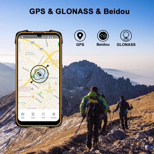 Cubot KingKong 5 Pro IP68/IP69K Waterproof Smartphone Rugged Phone 8000mAh 48MP Triple Camera Android 11 NFC 64GB Global 4G LTE 6