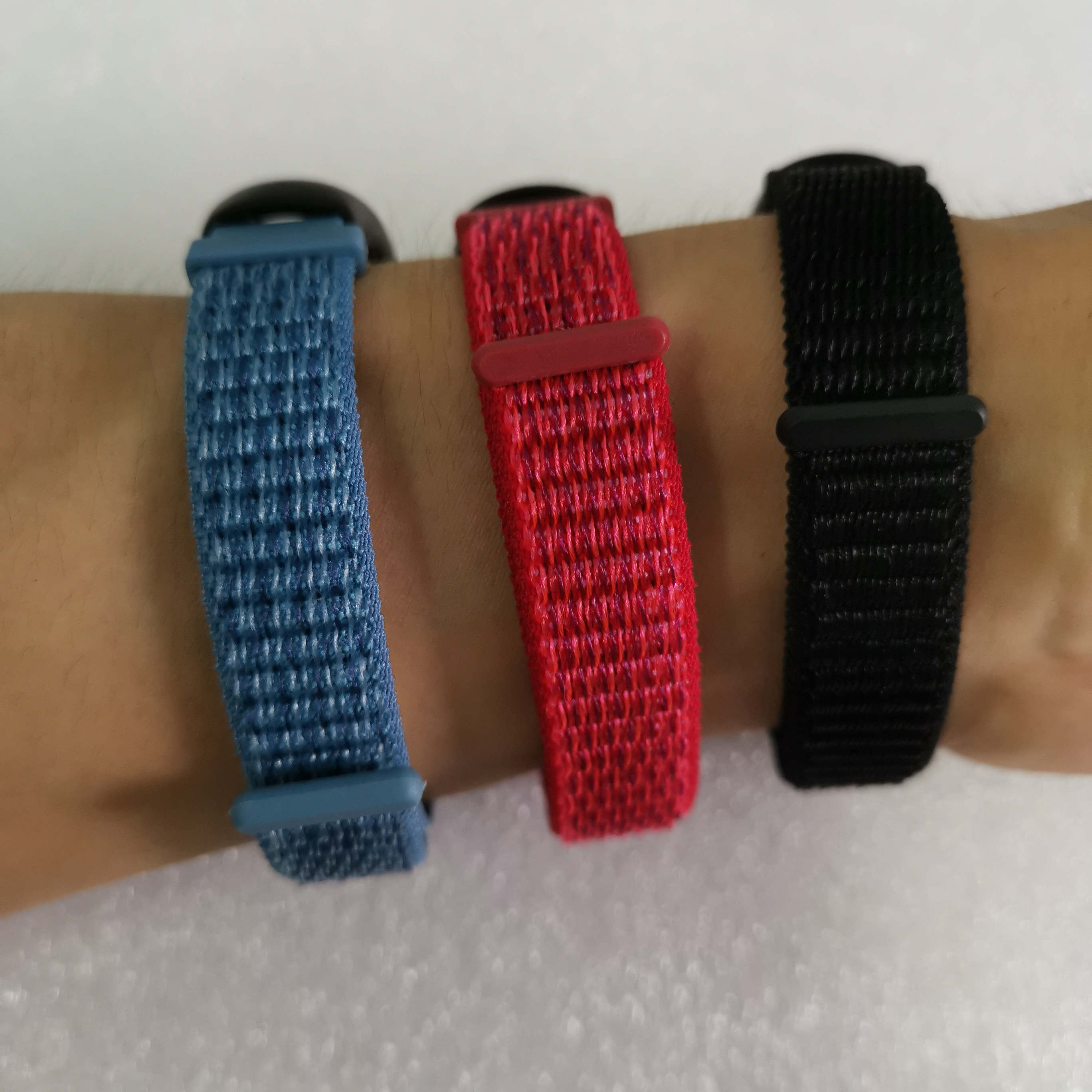 12mm Watch Strap Bracelet Nylon Watchband Wrist Belt Band Loopback Wristband 12mm Width Quick Release WatchStrap Watchbands