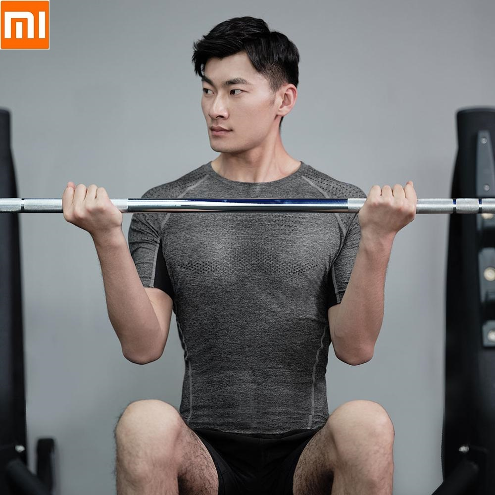 Xiaomi New Zenph Men's SensElast High Elastic Sports Compression Shirt Smooth Cool Man Short Sleeve Fitness Running Sweatshirt