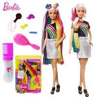 Originale di Marca Barbie Dolls Principessa Assortimento Fashionista Arcobaleno Della Ragazza Dei Capretti di Modo Regalo di Compleanno Bambola Bonecas Giocattoli per I Bambini