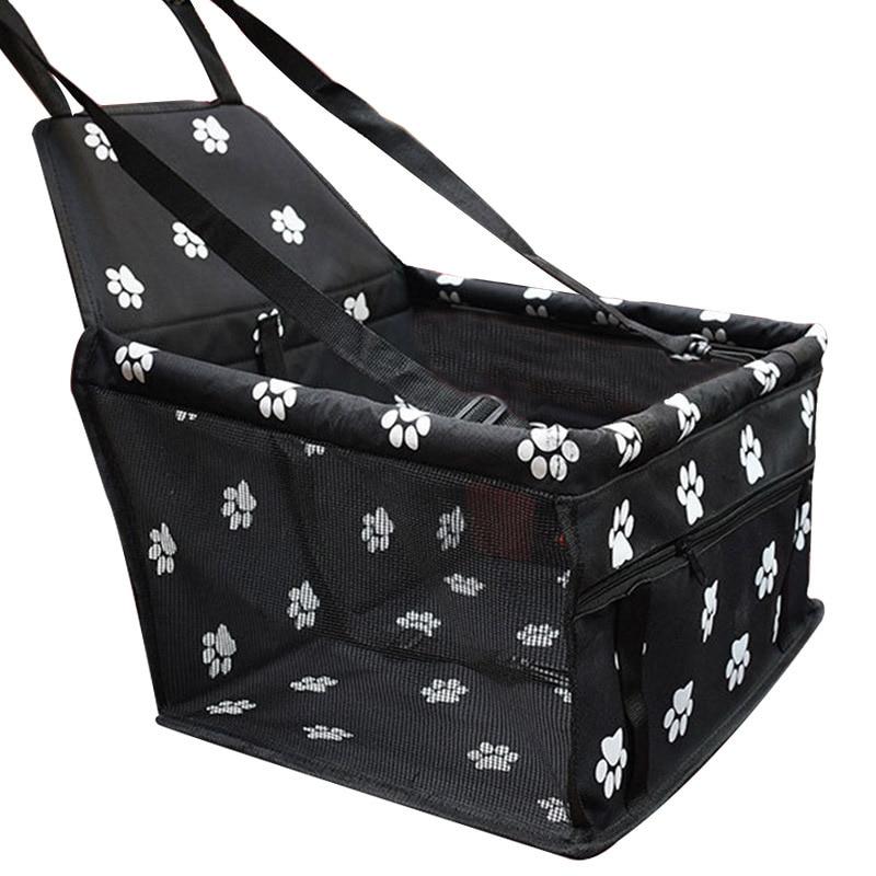 Bolsa de assento para carros de estimação, bolsa dobrável, à prova d' água, para cães e gatos, bolsa de transporte, segurança para cães pequenos e gatos