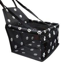 Cão de estimação portador de carro saco de assento cesta à prova dwaterproof água dobrável rede pet portadores saco para cães gato pequeno segurança viajando malha