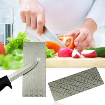 Diamond Honeycomb Square Grinding Disc Sharpening Tool Grinding Wheel Disc 400/1000 Mesh Kitchen Utensils Cooking Tool image