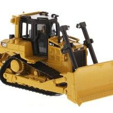 DM 1/64 CAT гусеница D6R Гусеничный Трактор БУЛЬДОЗЕР строительная машина 85607 коллекция моделей Рождественский подарок