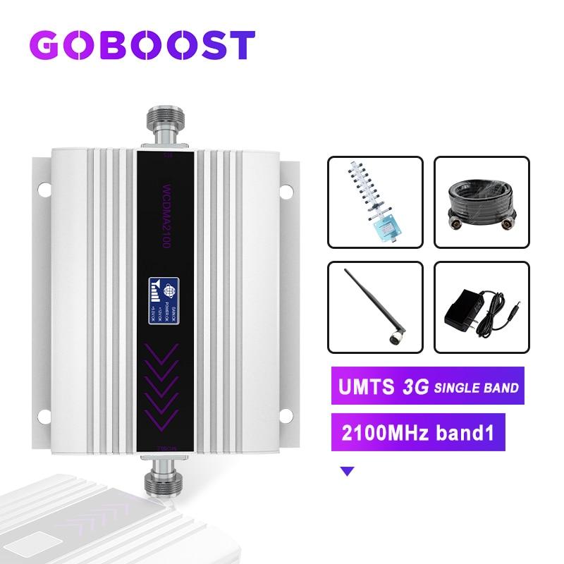 Cellular Amplifier 3g Booster 2100 Cellular Signal Amplifier Mobile Signal Amplifier For Cell Phones Repeater 3g Wcdma 2100 Kit