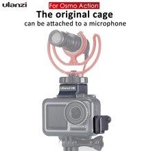 Микрофон Booster w Горячий башмак крепление Mic удлинители кабельный зажим держатель для оригинальной DJI OSMO экшн клетки