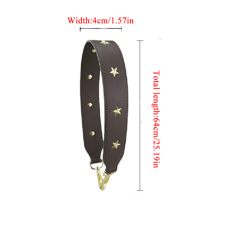 4cm Wide Short Bag Strap Women Handbag Belt Handle Replacement Accessory Replacement Strap Bag Part Adjustable Belt