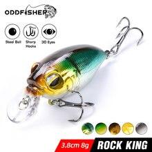 Crankbait Jerkbait Wobbler For Pike Perch Fishing Lure Bait Mini Minnow Crank Swimbait Powerbait Isca pesca Sea Bass 8g 11g Rock