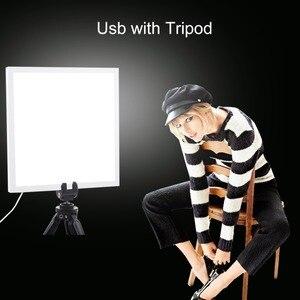 Image 3 - ミニ LED 写真スタジオ影底ライトランプパネルパッドフォトスタジオソフトボックス底 20 センチメートル用 lightboxs