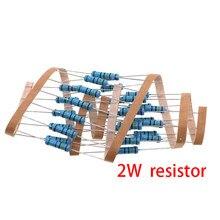 20pcs 2W filme De Metal resistor 1% 150R 160R 180R 200R 220R 240R 270R 300R 330R 360R 150 160 180 200 220 240 270 300 330 360 ohm