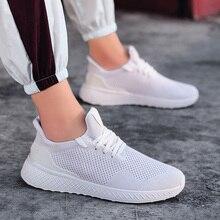 Мужская спортивная обувь, сетчатые кроссовки, ультралегкие Повседневные Дышащие для лета-B5