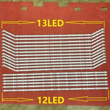 6set=18pcs 12/13LED LED Backlight strip for UE40EH5000 UE40EH5450 UE40EH5040 UE40EH5300 D3GE 400SMA 400SMB R2 BN96 28767A 28766A