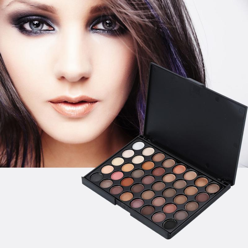 40 Color Makeup Eye Shadow Glitter Matte Cosmetic Matte Eyeshadow Pearlized Cream Palette High Quality TSLM1 1