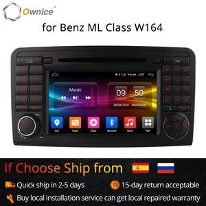 Image 1 - Ownice C500 안 드 로이드 6.0 Octa 코어 32G ROM 자동차 DVD 플레이어 GPS 메르세데스 GL ML 클래스 W164 X164 ML350 ML450 GL320 GL450 4G LTE