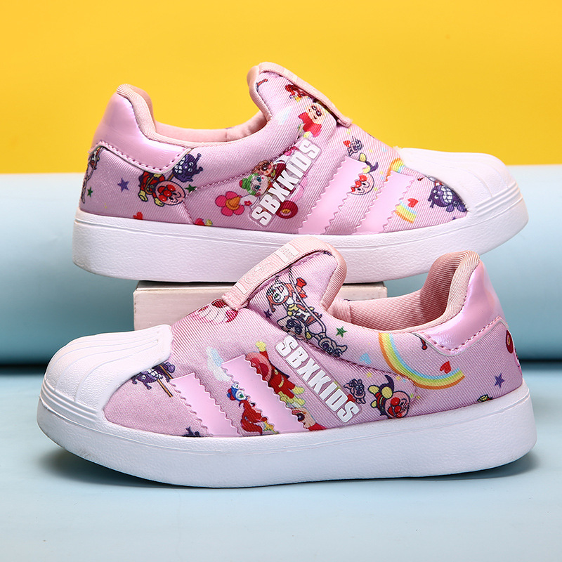 Chaussures enfants pour fille baskets garçons marque adolescente classique chaussures blanches Chaussure Enfant souple Sport baskets de course Enfant formateur