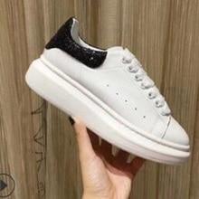 2021 męskie buty kobieta czarne białe buty sportowe Alexander sneaker skórzane sportowe płaskie lady run train buty kobiety mężczyźni tenis wysokie obcasy
