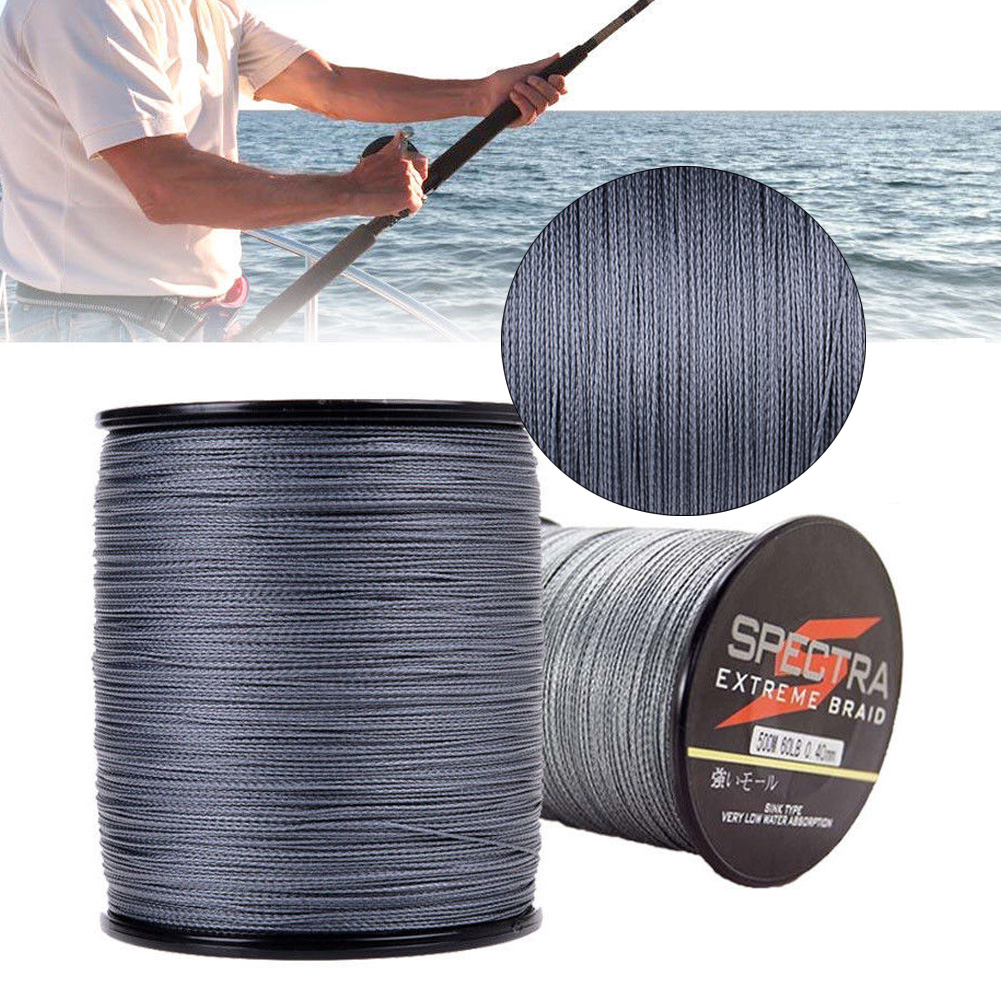 500M 15-100LB Agepoch Super Strong Spectra Extreme PE Braided Sea Fishing Line