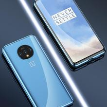 Oneplus 7T Magnetic Case 360 Front+Back Double-Sided Tempere