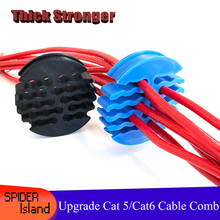 Cable for Computer-Room 24-Wires Comb-Machine Tidy-Tools Arrangement Upgrade Category5/category