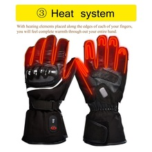 Heating-Gloves Cycling Motorcycle Racing Outdoor Winter Warm SAVIOR Unisex Battery