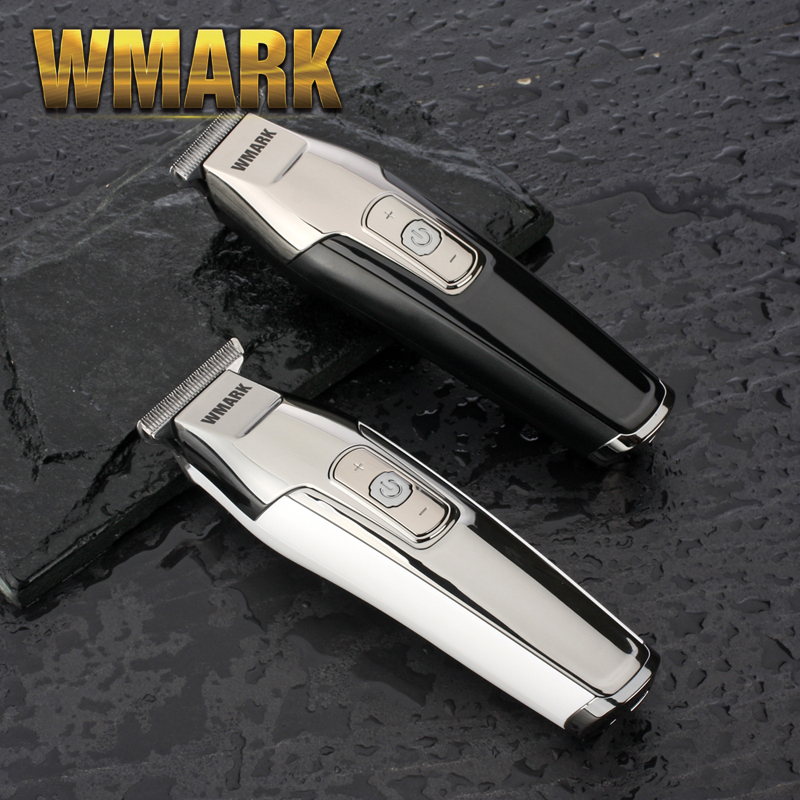 WMARK Barber 0 Mm Hair Detail Trimmer Beard Car Hair Clipper Electric Hair Cutting Machine Haircut Razor Edge T-wide Blade