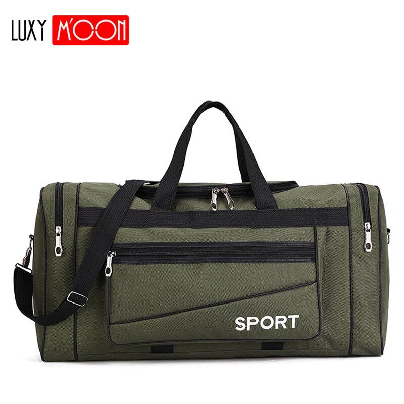 Bolsa de lona Oxford Casual impermeable para hombre bolsas de viaje de fin de semana Multi-Bolsillo grande bolsa de viaje para hombre XA131K Pantalla Ultra grande de 3