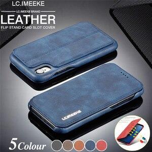 Магнитный кожаный чехол для iPhone SE 2020 XR XS 11 Pro Max 8 7 6 6S Plus, чехол-кошелек для Samsung S20 Ultra S10 S9 S8, чехлы