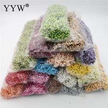 Artificial Flower Stamen Wire Stem/Marriage Leaves Diy Wreath Wedding Box Decoration Beaded Fake Wholesale