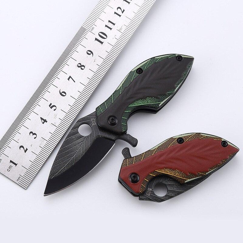 1 шт. 440C складной нож из нержавеющей стали с 3d-печатью, многофункциональный нож для кемпинга, технология защиты, тактический