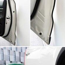 5M U type Car Door Rubber Edging Strip Sealing Anti-rub Anti-collision Strip for Buick Cadillac Chevrolet Cruze Opel Astra VAUX