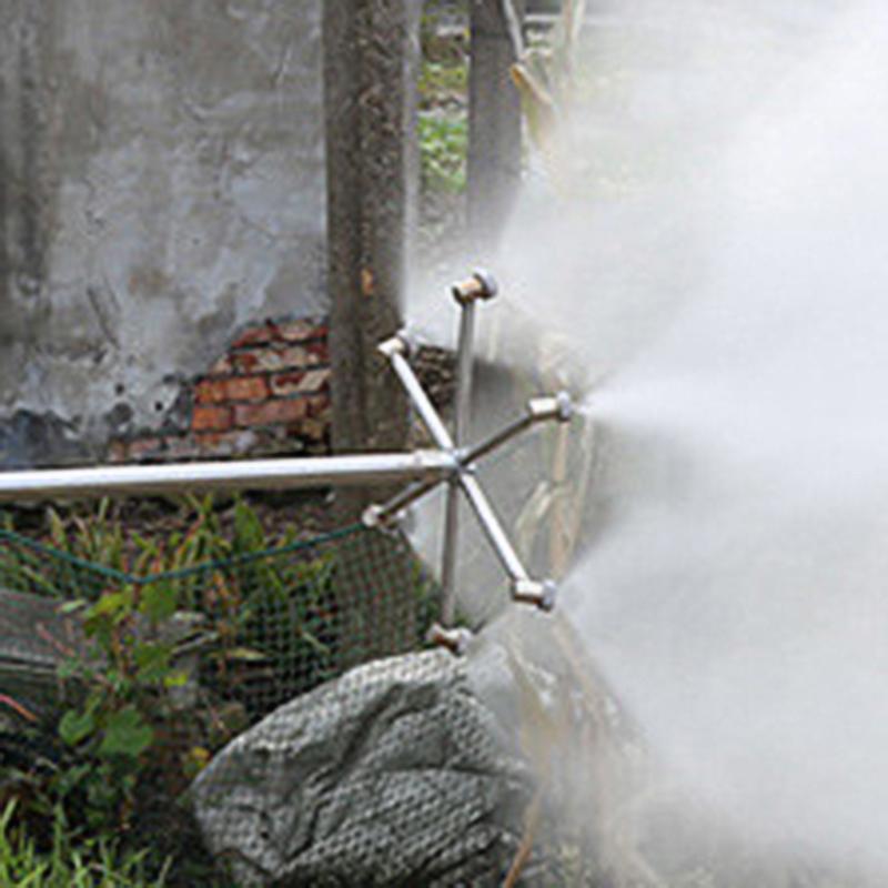 Rotary Zerstäubung Düse 360 Grad Rasen Garten Bewässerung Wasser Spray Sprinkler für Bewässerung Rasen Pflanzen Blumen