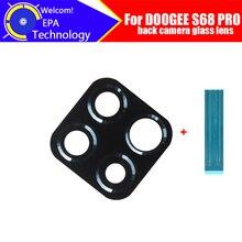 DOOGEE S68 PRO objectif de caméra arrière 100% Original arrière lentille de caméra en verre accessoires de remplacement pour DOOGEE S68 PRO téléphone
