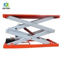 Construction equipment scissor lifter