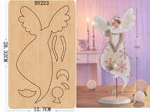 Angel of beauty DIY wooden die/cutting tool die/ Scrapbook mold2019