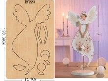 Ангел красоты DIY деревянный штамп/режущий инструмент/Скрапбукинг mold2019