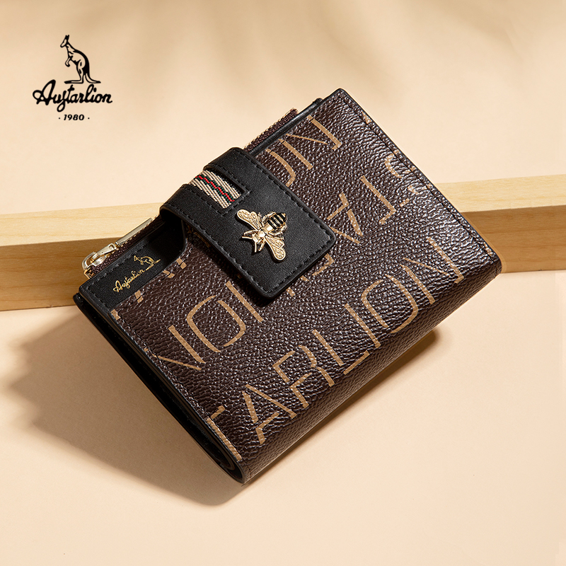 Women's Wallet Fashion AUGTARLION Brand Leather Purse Women Ladies Card Bag For Women 2020 Women Female Purse Money Clip Wallet