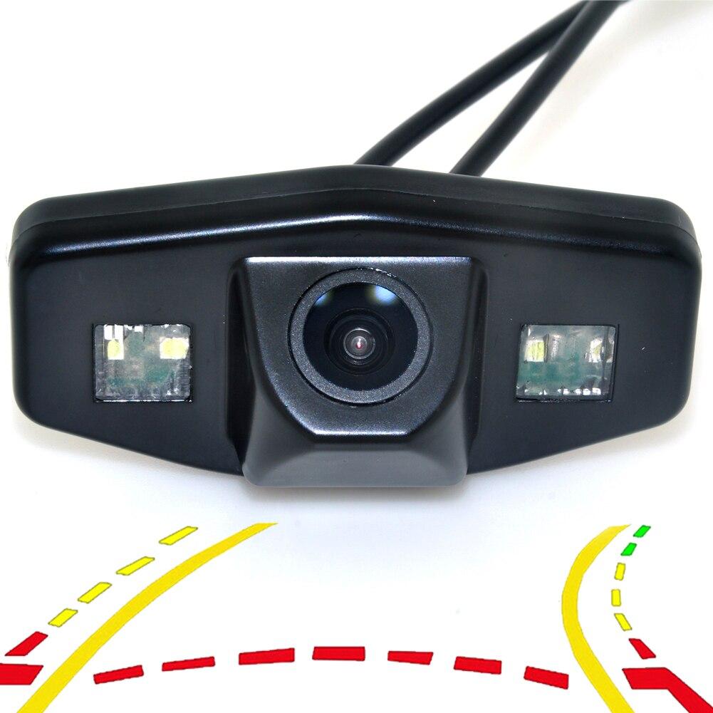 Caméra de recul de vue arrière de stationnement dynamique intelligente de trajectoire pour honda accord 7 2003-2010 pilote Civic Odyssey Acura TSX
