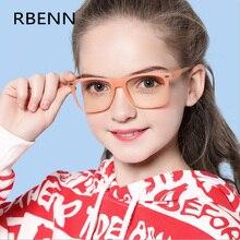 RBENN, синий светильник, блокирующие очки для детей, анти голубой луч, очки для компьютерных игр, защита UV400, для детей 7-12 лет
