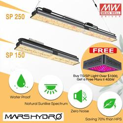 Mars Hydro SP-150 250 Volledige Spectrum Quantum Board LED Grow Light Indoor Veg Bloem Lamp SMD Chip☆Zero Noise☆Water Proof