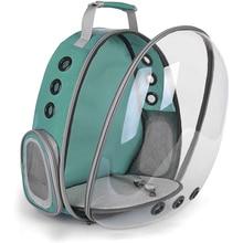 Pet Dog Carrier Bag Portable Cats Handbag Foldable Travel Pet Bag Puppy Carrying Breathable Pet Backpack Carrier Plastic PVC недорого