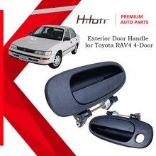 Black Front Right Outer Exterior Door Handle For Toyota RAV4 4 Door 1993 1994 1995 1996 1997 Corolla Geo Prizm