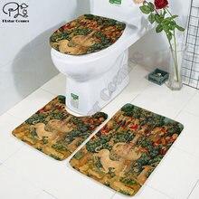Религия художественная Живопись 3d печать ванная комната подставка