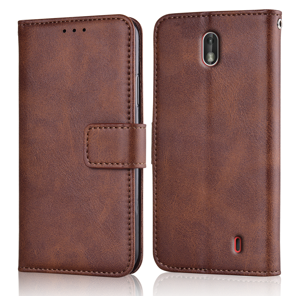 Slim Flip Leather Cover for On <font><b>NOKIA</b></font> <font><b>2</b></font> TA-<font><b>1029</b></font> 5'' Case Wallet Magnetic Case for NOKIA2 Back Cover image
