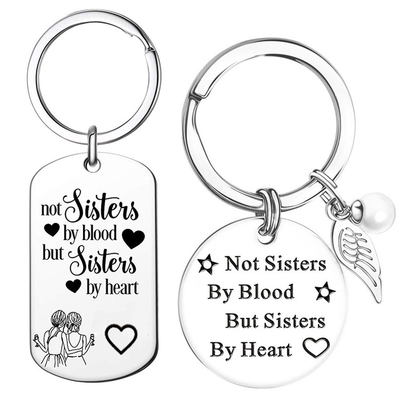 Брелок «не сестры крови, а сестры сердца»