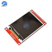 2,0 pulgadas TFT MÓDULO DE PANTALLA LCD Placa de pantalla LCD SPI serie ILI9225 4 IO conductor TFT resolución 176*220 5V/3,3 V para Arduino Diy
