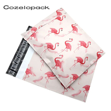 10*13 inch Poly Mailers 25.5x37cm Self Seal Plastic mailing Envelope Bags Flamingo designer 100pcs/pack