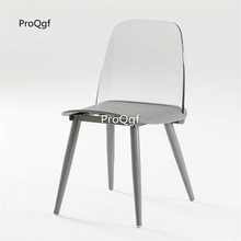 Prodgf 1 Set Minshuku colorful transparent Dining Chair