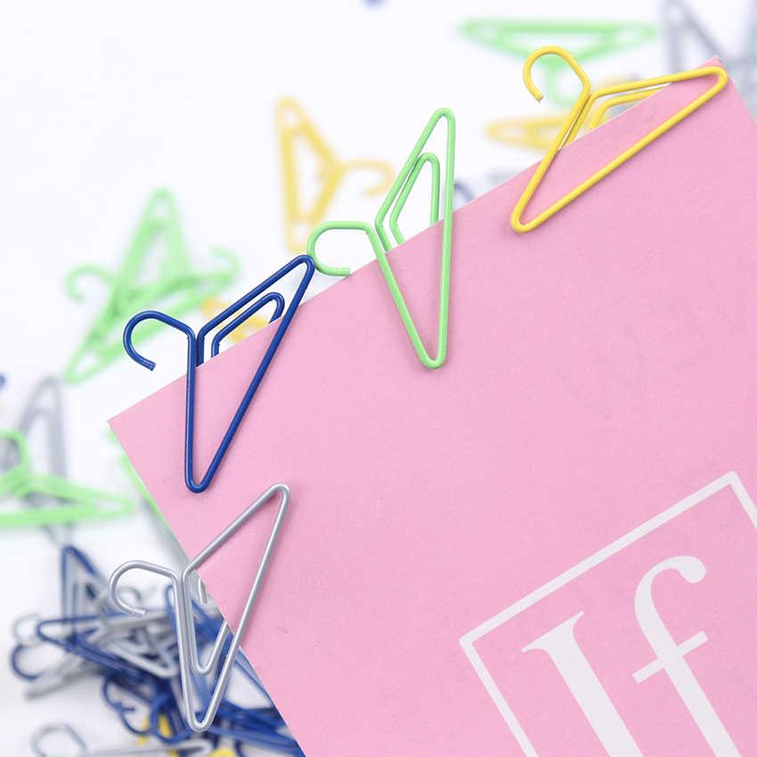 10 Pcs Mini Klip Kertas Kawaii Stationery Jelas Klip Pengikat Foto Tiket Catatan Huruf Klip Kertas Alat Tulis