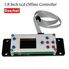 CNC GRBL Offline płyta kontrolera grawerowanie maszyna płyta sterowania 3 osi USB 1.8 Cal Lcd
